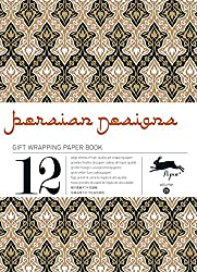Persian Designs: Gift and Creative Paper Book Vol. 25 (Gift Wrapping Paper Book)
