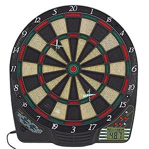 Best Sporting CHESTER elektronische Dartscheibe, Dardboard mit LCD-Anzeige, 6...