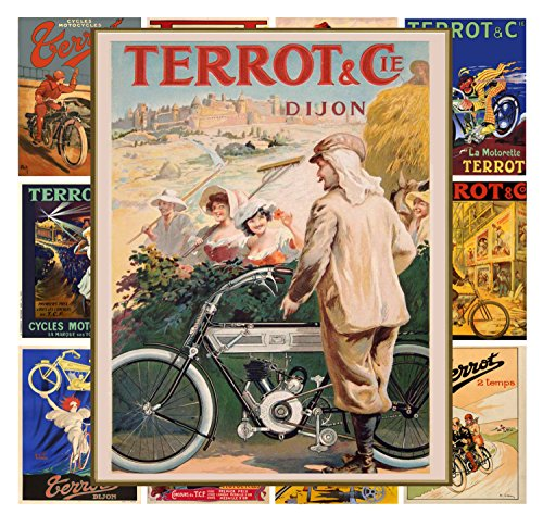 Preisvergleich Produktbild Wall Calendar 2017 [12 pages 20x30cm] Terrot Moto Bicycle Vintage Ads Poster