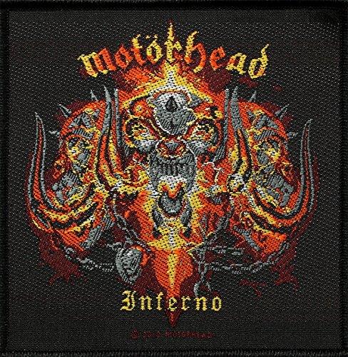 Preisvergleich Produktbild Gewebte Aufnäher / Patch Motörhead - Inferno