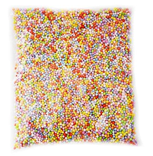 Leisial 1 Sachet Color Foam Matériau de Fabrication de Bricolage Rempli de Particules Enfants de la...