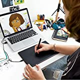 WACOM One By CTL-472/K0-CX Small 6-inch x 3.5-inch Graphic Tablet (Red and Black)