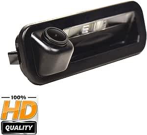 170 Hd Kamera 1280x720p Wasserdicht Nachtsicht Einparkhilfe Hilfslinien Heckklappe Rückfahrkamera Distanzlinien Umschaltbar Für Ford Focus Se