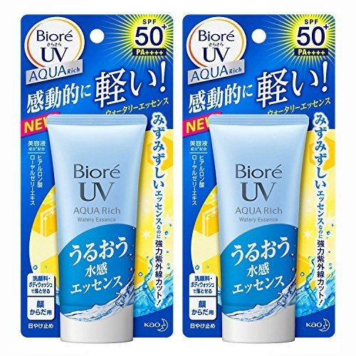 biore-aqua-rich-waterly-essence-sunscreen-spf50-pa-50g-new-2015-2packs-by-bior