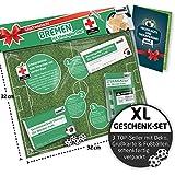 Liga-Apotheke für Bremen-Fans | Saison-Notfall-Set zum Überraschen & Verschenken witzig verpackt, mit Schadenfreude gratis & Spaßgarantie inklusive