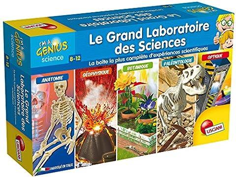 Lisciani - FR59560 - Jeu Educatif - Le Grand Laboratoire des Sciences