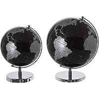 Casablanca Globus World schwarz/silberD.20cm