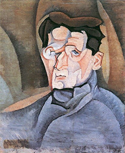 Das Museum Outlet–Portrait Maurice Raynal by Juan Gris, gespannte Leinwand Galerie verpackt. 50,8x 71,1cm