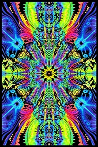 WORMHOLE Blacklight Poster Drucken (58,42 x 88,90 cm) - Blacklight Poster