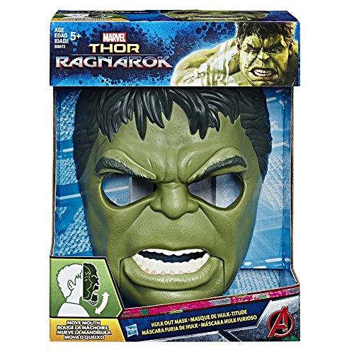 Hasbro Avengers B9973EU4 - Hulk Maske mit Brülleffekt, Verkleidung (Kinder-hulk)
