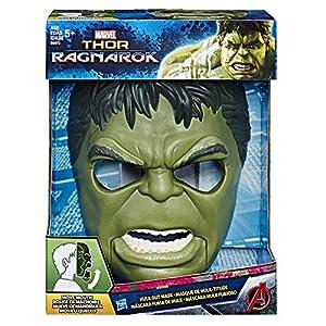 Marvel Avengers- Mascara Hulk con Movimiento, (Hasbro B9973EU4)