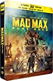 Mad max : fury road [Steelbook 3D - édition limitée] [SteelBook Ultimate Édition - Blu-ray 3D + Blu-ray + DVD + Copie digitale]
