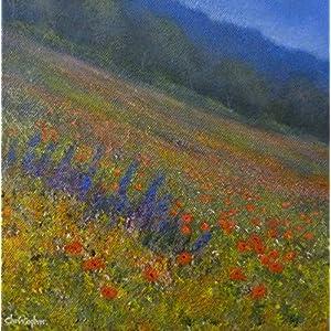 Kleine original Landschaftsmalerei