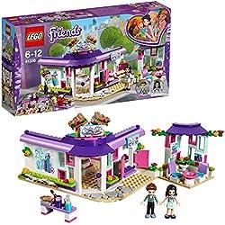 LEGO Friends - Le café des arts d'Emma - 41336 - Jeu de Construction