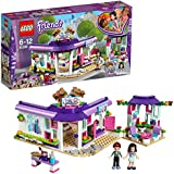 Lego Friends Emma's Art Café Building Blocks for Girls 6 to 12 Years (378 pcs)  41336 (Multi Color)