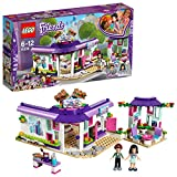 #8: Lego Friends Emma's Art Café Building Blocks for Girls 6 to 12 Years (378 pcs) 41336