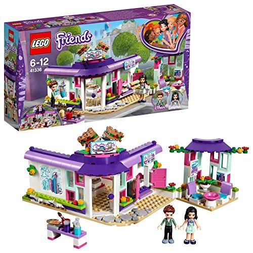 LEGO Friends 41336 - Emmas Künstlercafé, Unterhaltungsspielzeug (Lego Hotel)