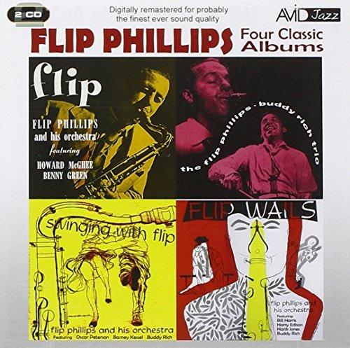 Four Classic Albums Plus by FLIP PHILLIPS (2012-10-23) Flip Plus Audio
