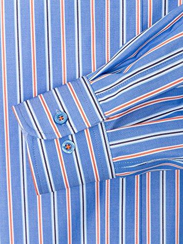 CASAMODA Messieurs Chemise d'affaires 431668500 regular fit facile à repasser Bleu