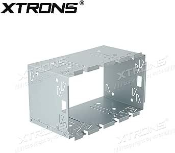 Auto XTRONS 100mm Universale Doppio DIN Auto Radio Stereo GABBIA /& STAFFE KIT DI MONTAGGIO
