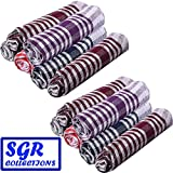 #6: SGR Pack of 12 Cleaning Cloth Multipurpose Kitchen Napkin Table Wipe