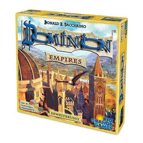 Rio Grande Games 22501410 Dominion Empires - Ampliación de Juego de Mesa (Idioma español no garantizado)