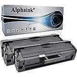 2 Toner Alphaink Compatibile con Samsung MLT-D111 versione da 1800 copie per stampanti Samsung SL M2020 M2020W M2022W M2026W