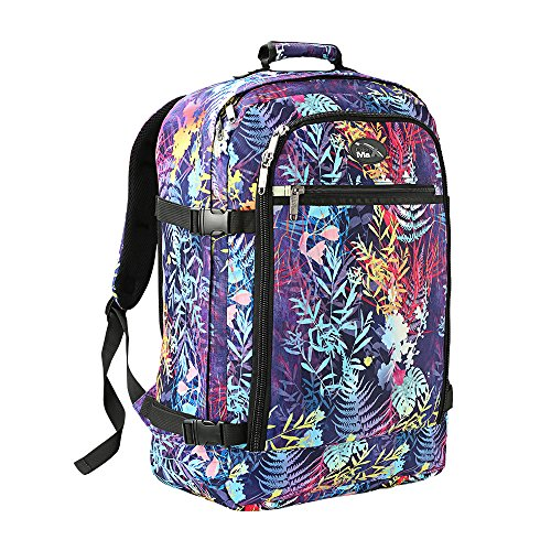 Cabin Max Backpack Flight Approved Carry On Bag Massive 44 litre Travel Hand Luggage 55x40x20 cm (Rainforest)