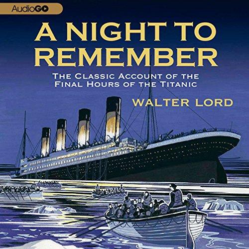 A Night to Remember  Audiolibri