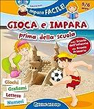 eBook Gratis da Scaricare Gioca e impara prima della scuola Giochi grafismi lettere numeri Ediz illustrata (PDF,EPUB,MOBI) Online Italiano