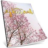Dékokind® 3 Jahres Journal: Ca. A4-Format, 190+ Seiten, Vintage Softcover • Dicker Jahresplaner, Tagebuchkalender, Buchkalender, Tagesplaner • ArtNr. 26 Frühlingshaft • Ideal als Geschenk