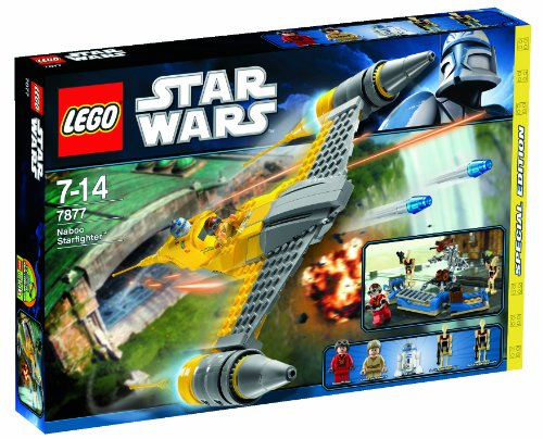 LEGO Star Wars 7877 - Naboo Starfighter (Lego Star Wars Naboo Battle)