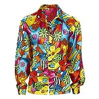 Widmann-Erwachsenenkostm-Flower-Power-Hemd Widmann – Erwachsenenkostüm Flower Power Hemd -