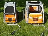 Petego Comfort Wagon M – gefederter Aluminium Hundeanhänger Fahrradanhänger - 6