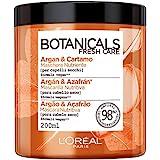 L'Oréal Paris Maschera Capelli Botanicals, Maschera per Capelli Secchi, Infusione di Nutrimento, Argan e Cartamo, 200 ml