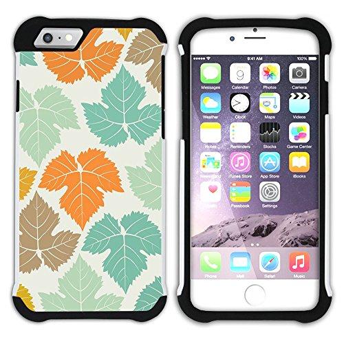 Graphic4You RED AND BLUE TRIBAL Muster Hart + Weiche Kratzfeste Hülle Case Schale Tasche Schutzhülle für Apple iPhone 6 Plus / 6S Plus Design #2