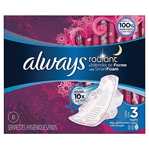 always-radiant-night-set-di-8-tovaglioli-igienici-alette-dimensioni-3