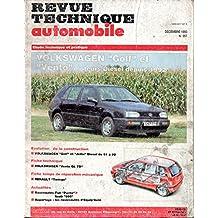 REVUE TECHNIQUE AUTOMOBILE N° 557 VOLKSWAGEN GOLF 3 ET VENTO DIESEL 1.9 D ET 1.9 TD DEPUIS 1992