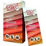 SPLENDIPELLE ® 3 in 1 salvietta umidificata per Articoli in Pelle, Cuoio ed Ecopelle, pulisce, nutre e Protegge, Confezione da 10 salviette sigillate singolarmente