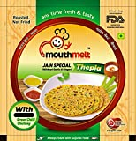 #7: Mouthmelt Methi Masal + Jain Special Soft Thepla (4 Packet, Methi Masal 3 Packet With Garlic & Jinger+Jainspecial 1 Packet Without Garlic & Jinger) (Ready To Eat,Rosted, Not Fried) Each Packet Contain 200G