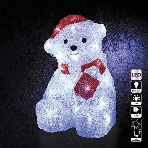 Feerie Christmas Décoration de Noël lumineuse d'extérieur - Ourson