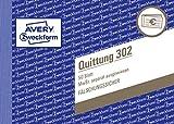 AVERY Zweckform 302 Quittung MwSt. separat ausgewiesen weiß