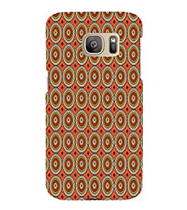 Abstract Painting 3D Hard Polycarbonate Designer Back Case Cover for Samsung Galaxy S7 :: Samsung Galaxy S7 Duos G930F