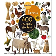 On The Farm: 400 Reusable Stickers