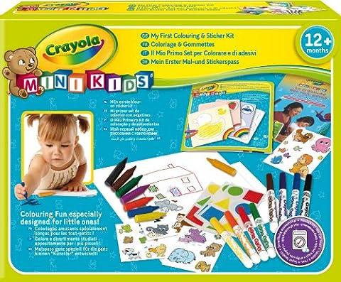 Crayola Mini Kids - 10570 - Kit de Loisir Créatif