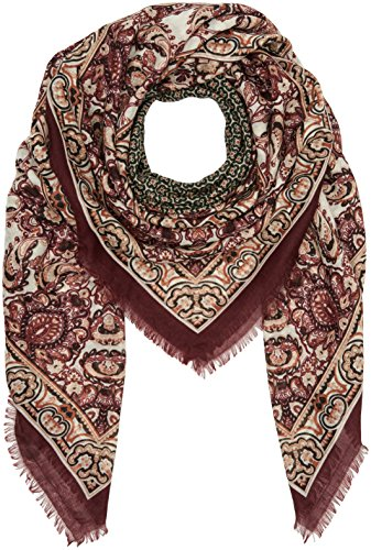 PIECES PCPAIGE SQUARE SCARF, Sciarpa Donna, Multicolore (Misty Rose), Taglia unica