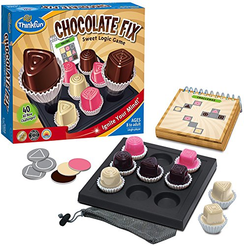 Think Fun - Chocolate Fix, juego de mesa (TF1530)