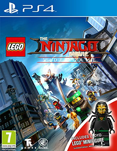 Lego The Ninjago Movie Videogame Toy Edition PS4 Game Best Price and Cheapest