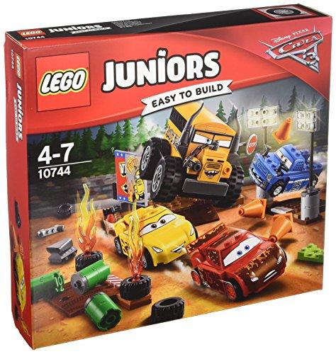 Lego 10744 Juniors Crazy acht Rennen in Thunder Hollow, Auto-Spielzeug