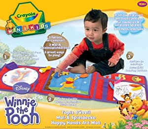Crayola 10408 activit s cr atives dessin et peinture tapis d eveil winnie l ourson amazon - Tapis eveil winnie l ourson ...